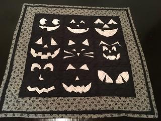Jacks Lanterns quilt! 🎃👻