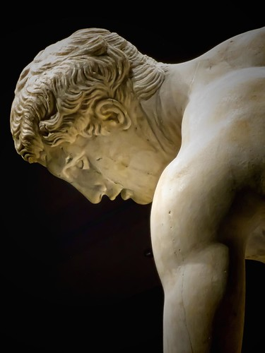 Diskobolos (discus thrower) 2nd century CE Roman copy of ...
