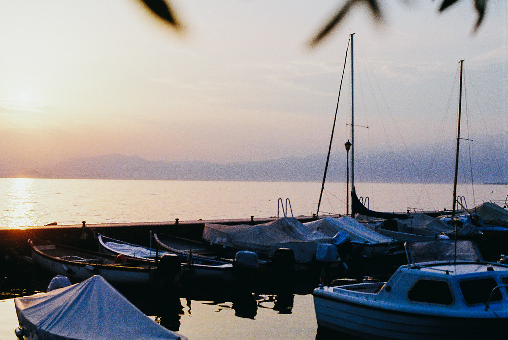 lake garda on film