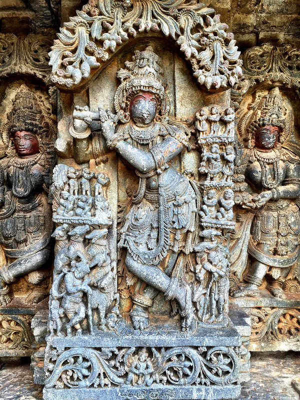 Mallitamma's Krishna, with his signature at the bottom...