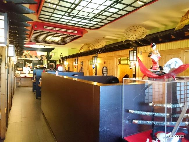 Osaka Sushi Japanese Restaurant interior
