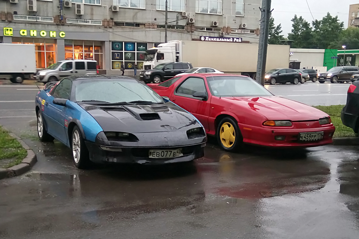 Pontiac Firebird & Chrysler Daytona