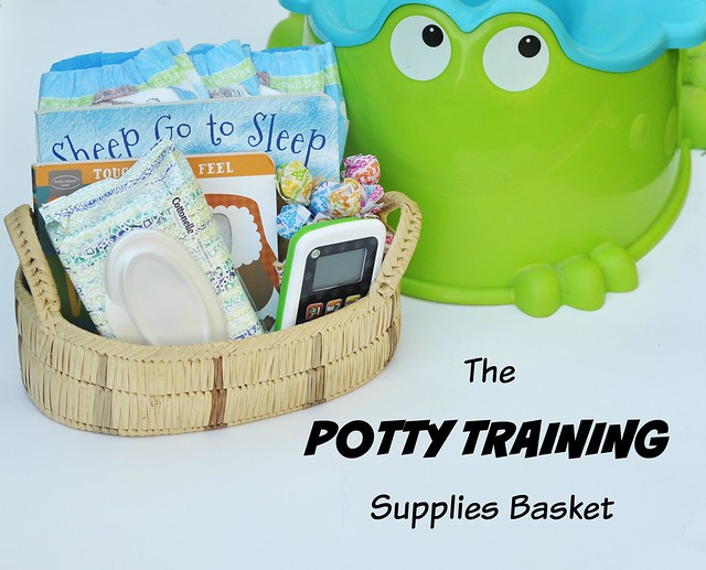 The Potty Training Supplies Basket
