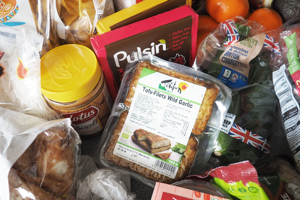vegan food haul 6