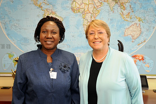 UN Women Executive Director Michelle Bachelet meets with Minister of Togo | by UN Women Gallery