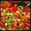 #Fresh #Ceci #Chickpea #Salad #Homemade #CucinaDelloZio - add carrots, celery, cucumber, chives, tomatoes