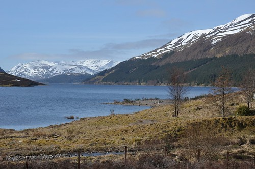 Ben Alder across Loch Ericht
