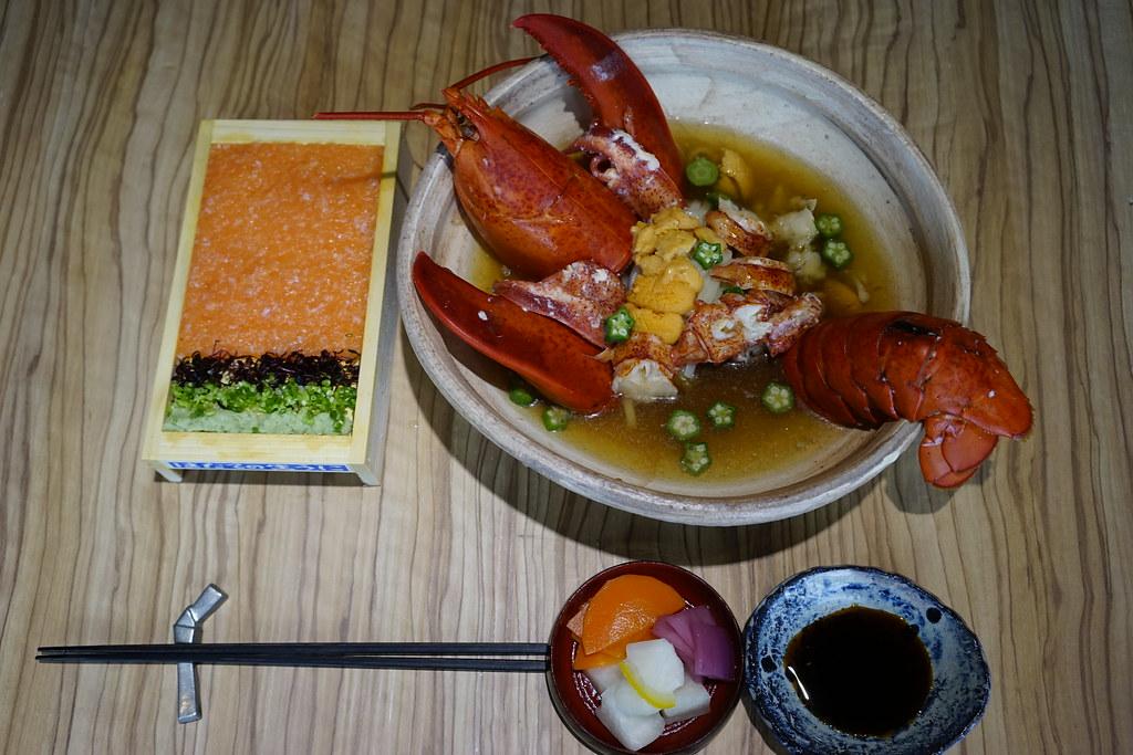 海膽龍蝦套餐