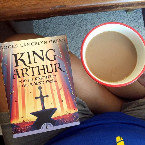 New month, new read aloud. Diving into King Arthur today to go along with our medieval studies.  #readaloudrevival