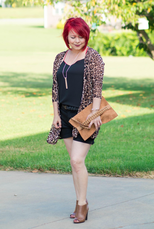 Leopard Cardigan, Ageless Style