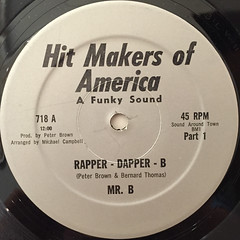 MR.B:RAPPER DAPPER B(LABEL SIDE-A)
