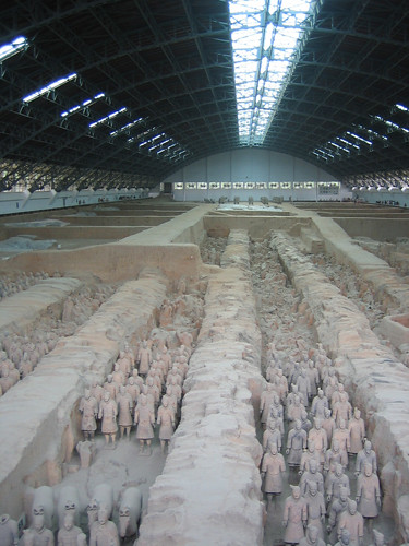 IMG_4944 - Terracotta Warriors in Qin Shi Huang's Tomb, Xi'an, China, 2007
