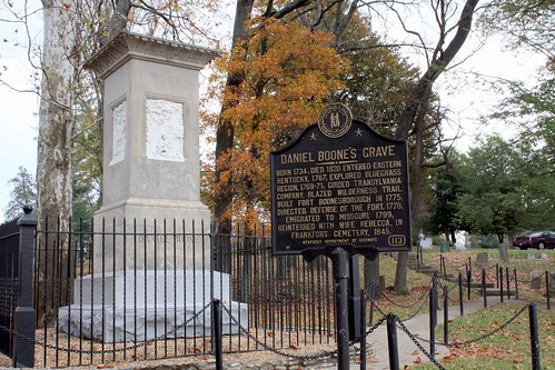 The Gravesite of Daniel Boone