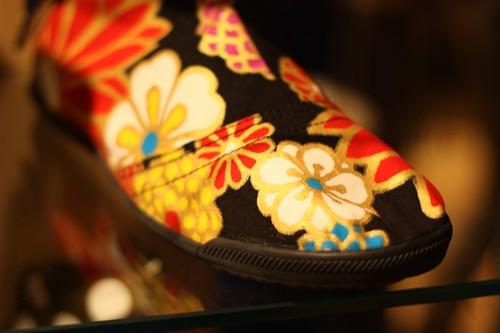 White Round Toe Wedding Shoes