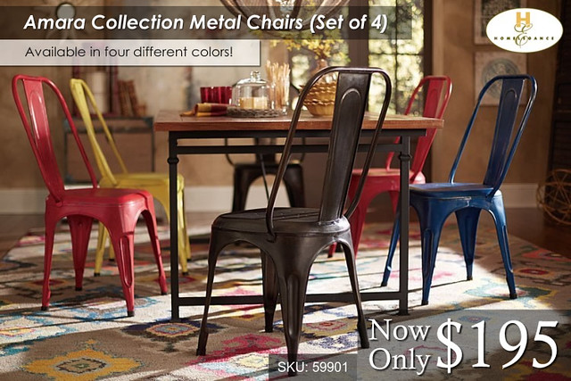 Amara Collection Metal Chairs