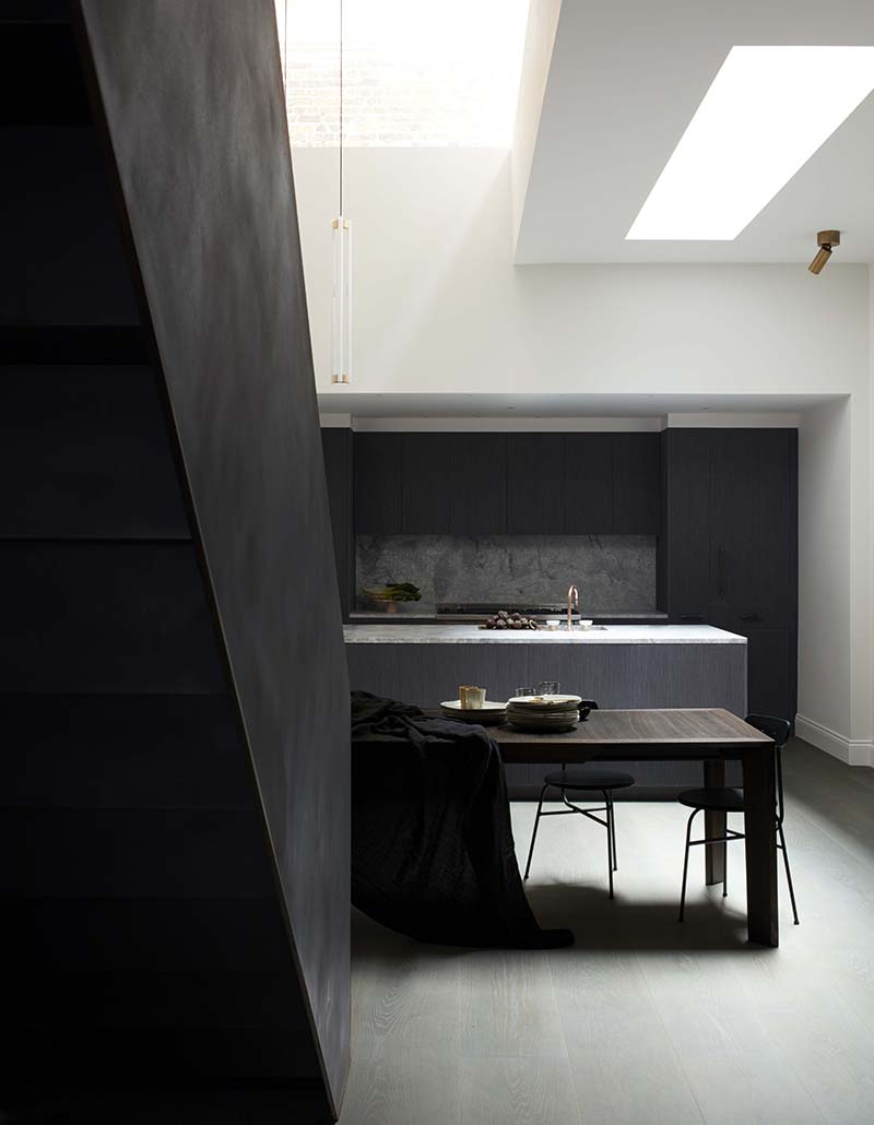 Dark Kitchen A Merry Mishap A Dark Kitchen With Skylights