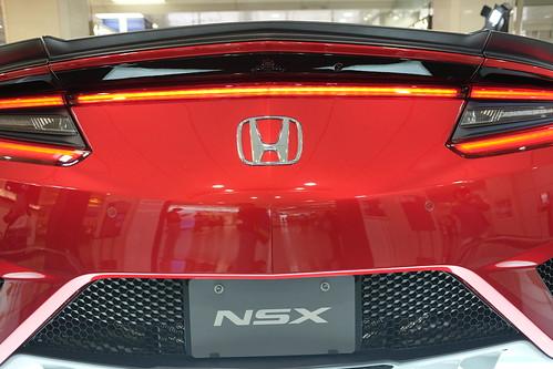 Honda NSX Valencia red pearl 07