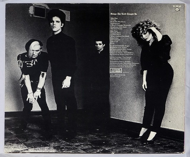 """CRAMPS Songs the Lord Thaught Us Netherlands 12"""" LP ALBUM VINYL"""