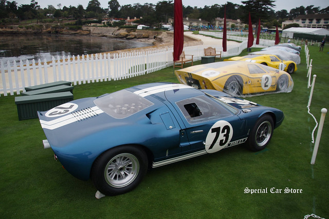 Ford GT40 Le Mans' winner on the eve of Pebble Beach Concours