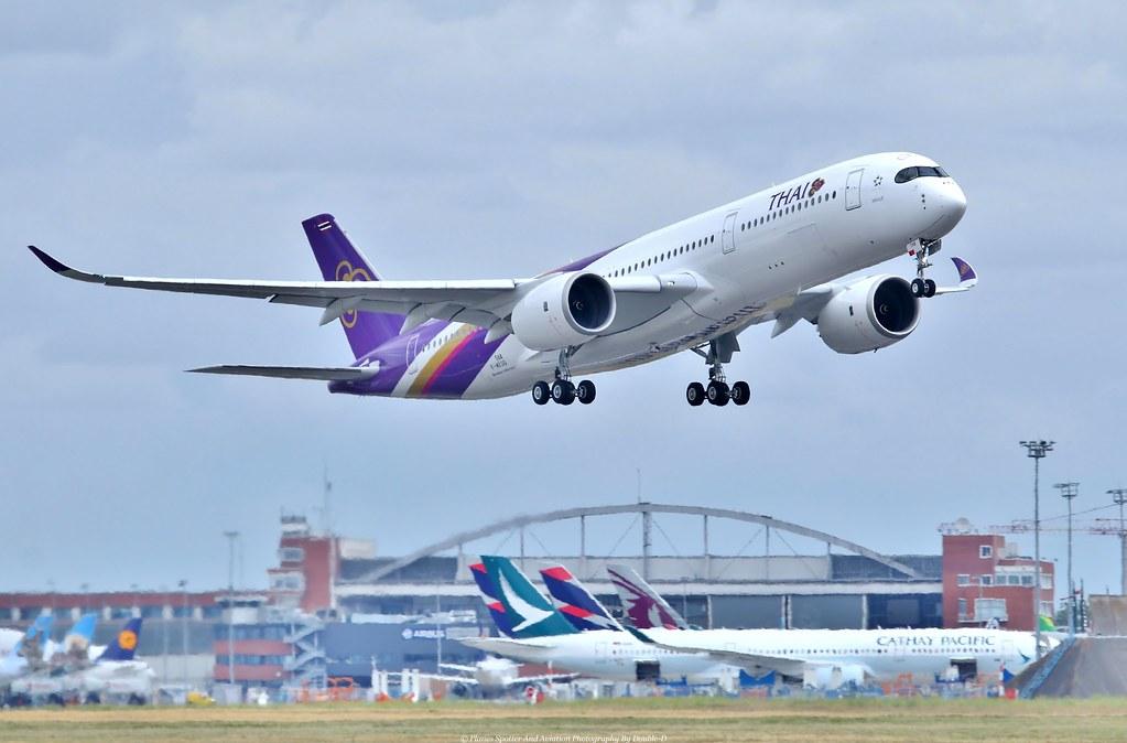 Afbeeldingsresultaat voor Airbus A350 900 thai
