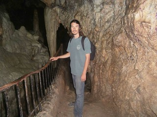 Kyle in the Cave