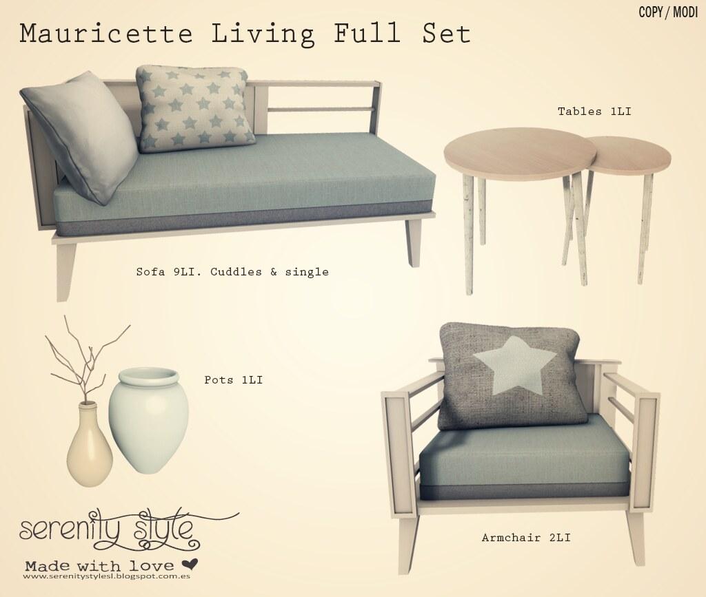 Serenity Style- Mauricette Full Set