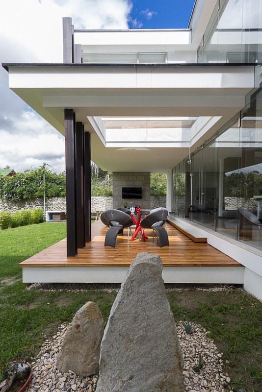 Модульный дом House PY. Проект ModulARQ arquitectura