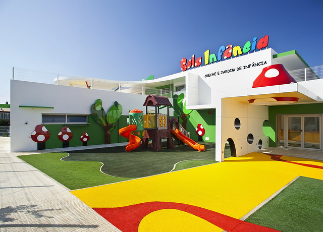 Innovative Primary Classroom Design ~ Creche bela infancia underline concept by vc group