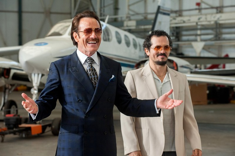 Bryan Cranston and John Leguizamo under cover in THE INFILTRATOR.