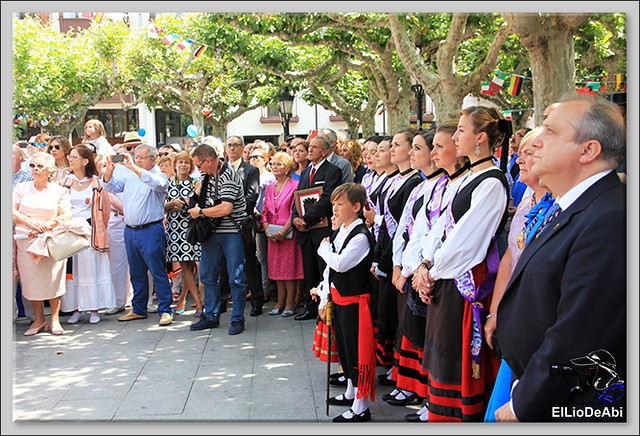 Briviesca en Fiestas 2016 Sopa de ajo, Recepción y canto del Himno a Briviesca 1 (10)