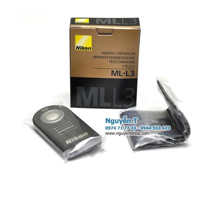 Remote hồng ngoại điều khiển từ xa MLL3 cho Nikon D610 D7100 D5200 D3300 D90 - Có BOX VÀ TÚI ĐỰNG