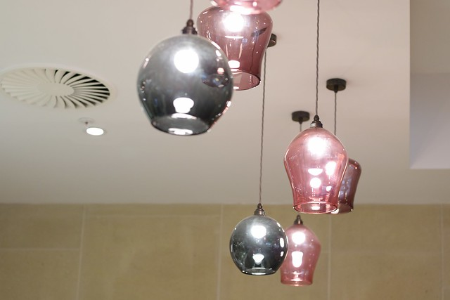 Virgin Money Lounge Sheffield - lighting