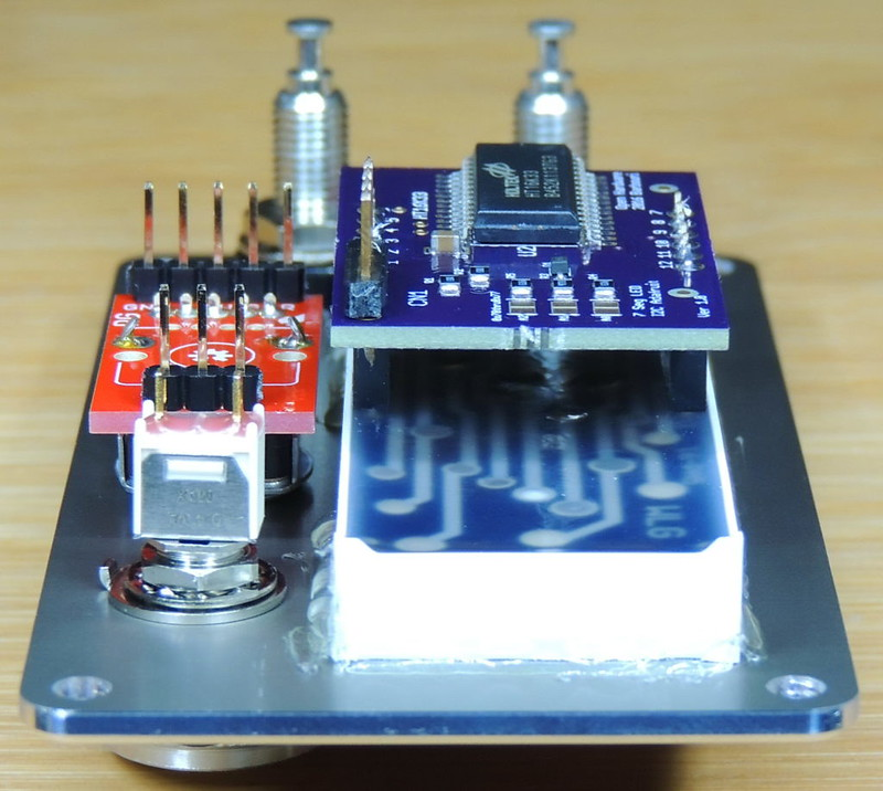 7 Segment X4 I2C LED backpack V1.0