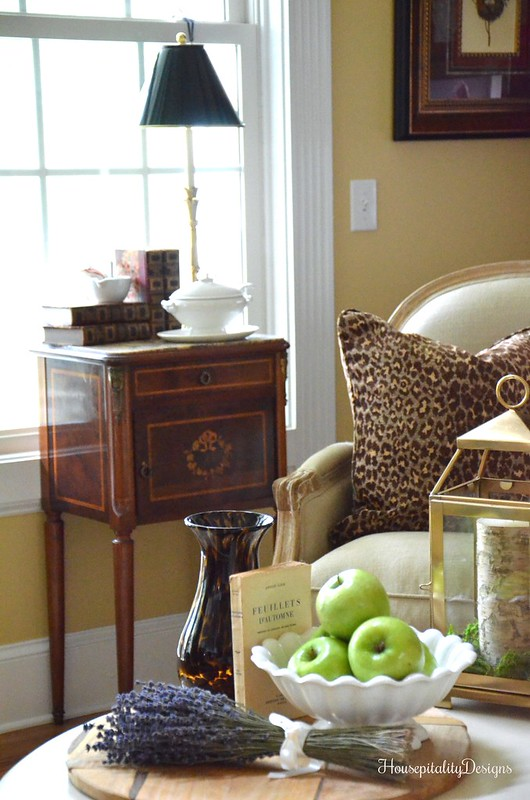 Great Room Fall Vignette - French Country - Housepitality Designs