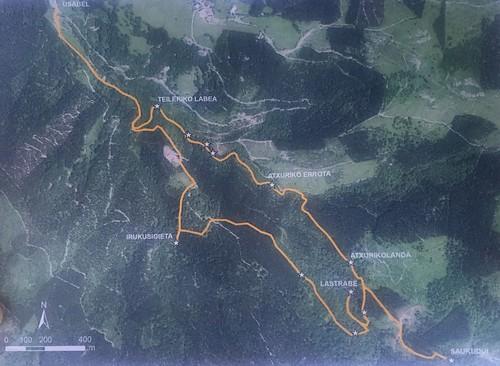 Ruta de los Kirikiñausis .Ruta del gaztaina eguna Orozko