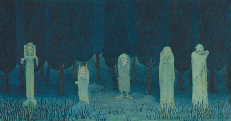 Herbert E. Crowley - Five Ghouls, 1911-14