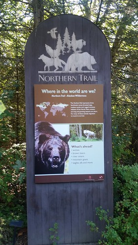 Woodland Park Zoo Northern Trail Sign