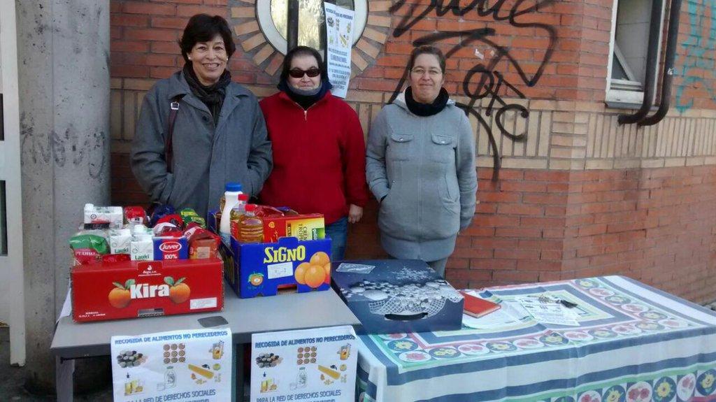 Recogida alimentos (diciembre 2015)