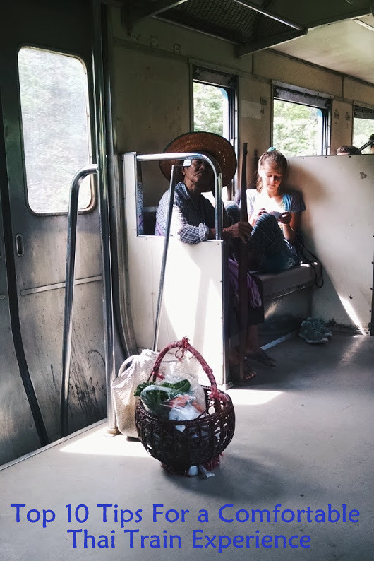 Top 10 Tips For a Comfortable Thai Train Experience