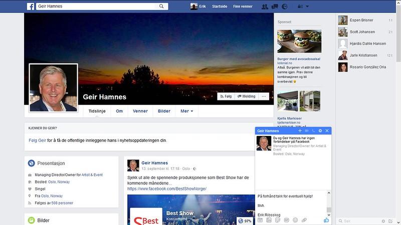 geir hamnes facebook