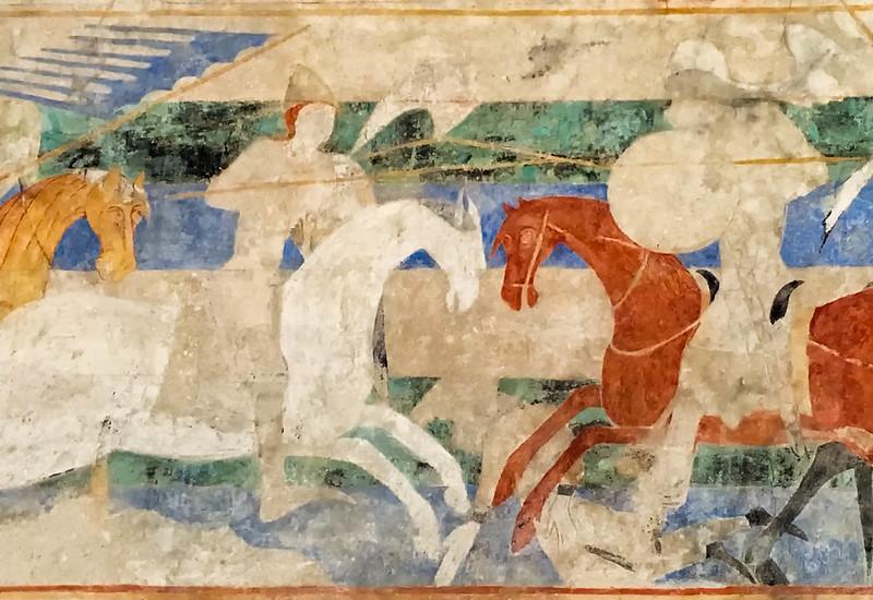 Carcassone Castle Horse Mural.jpg