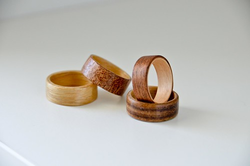 Completed Bentwood Rings - Only took 5 practice tries to make a keeper