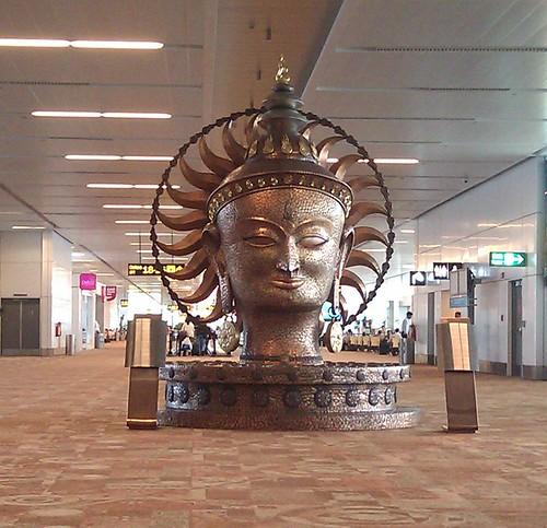2017-Aéroport Delhi