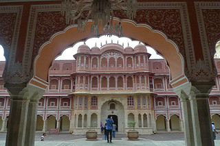Jaipur - City Palace facade