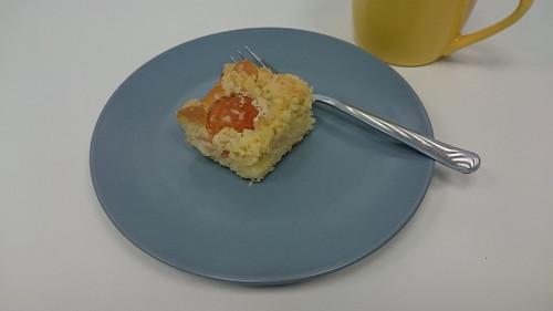 Aprikosenkuchen  (anlässlich des Geburtstags einer Kollegin)