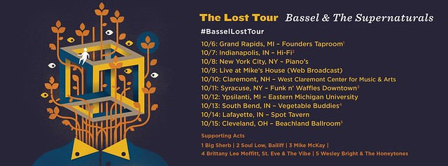 The Lost Tour - Bassel & The Supernaturals