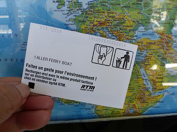 un aller ferry boat