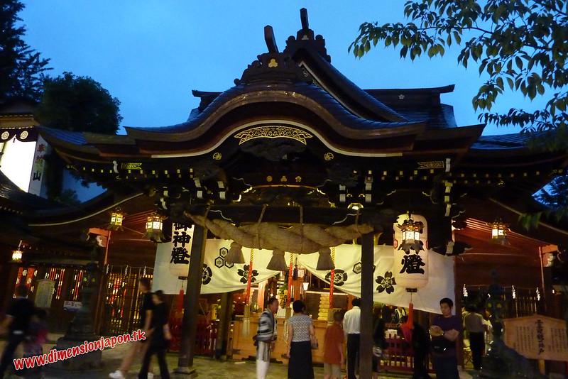 P1060790 Templo Kushida en festival (Fukuoka) 14-07-2010