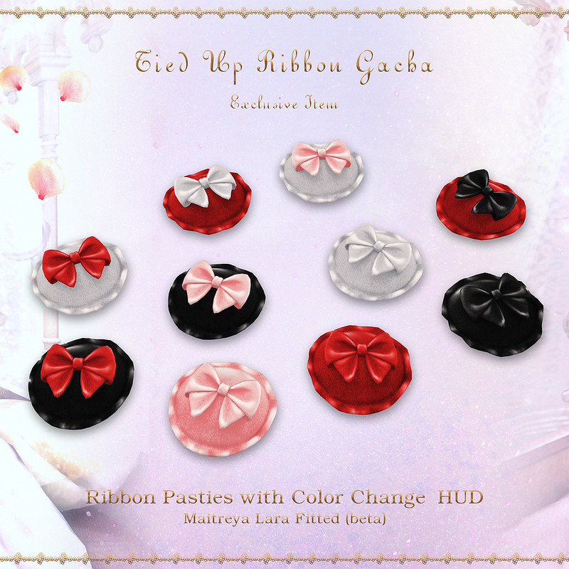 Sallie Language Ribbon Pasties Epiphany Exclusive