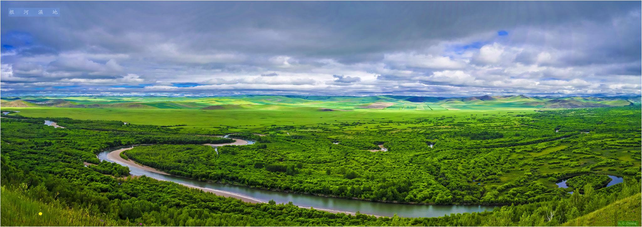 內蒙古東北區呼倫貝爾大草原接圖